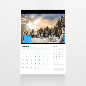 Firemní kalendář nástěnný